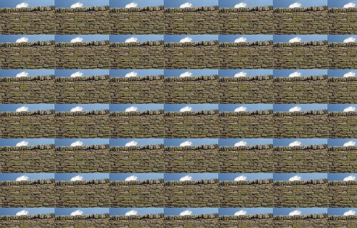 Vinylová Tapeta Suchá kamenná zeď v národního parku Peak District - Evropa