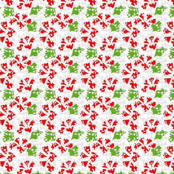 Vinylová Tapeta Stylový barevné květinové bezešvé tapety - Pozadí