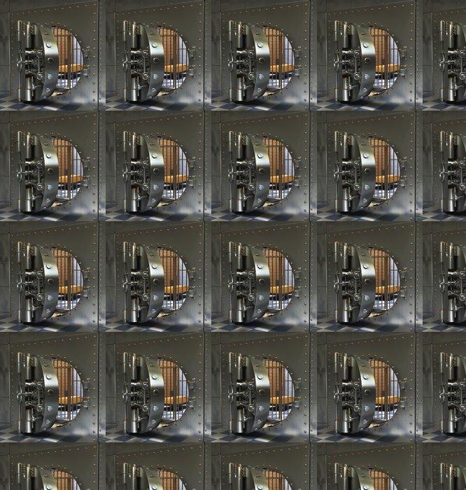 Vinylová Tapeta Klasická Trezory - Soukromé budovy