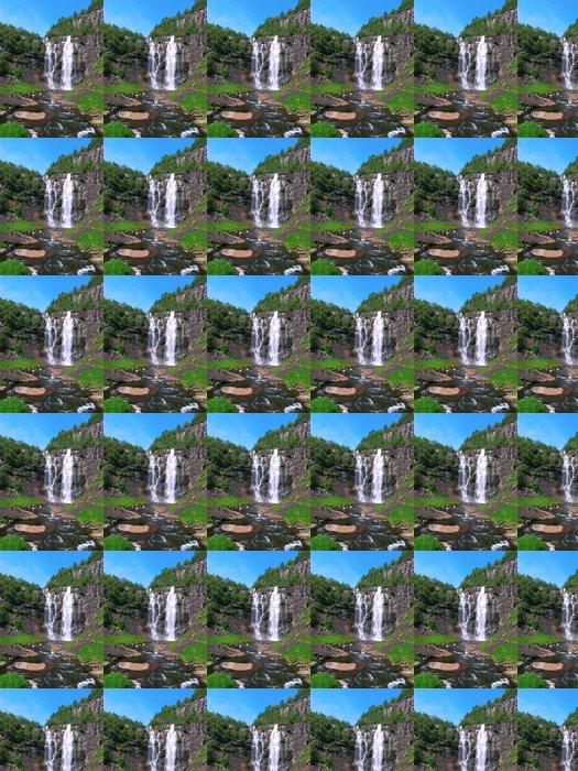Vinylová Tapeta Horská řeka - Voda