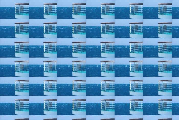 Vinylová Tapeta Nekonečné modři - Evropa