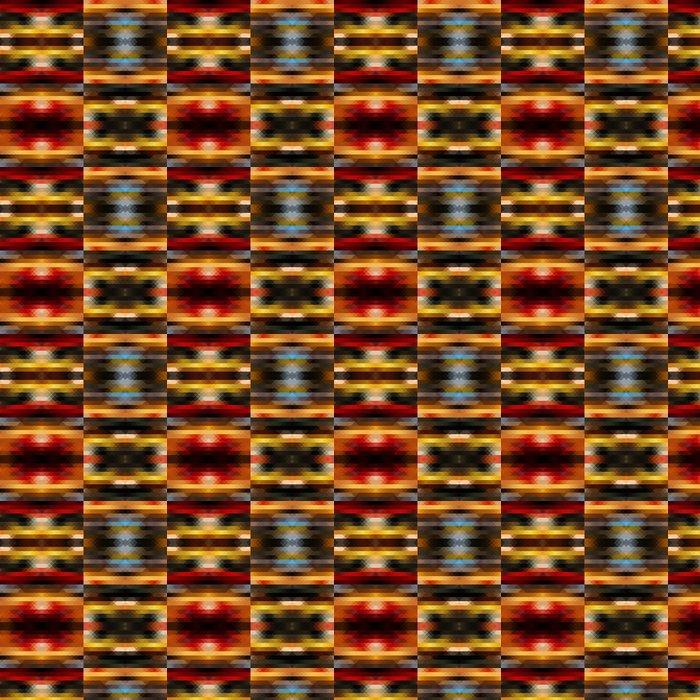 Vinylová Tapeta Kaleidoskop barevné set - Grafika