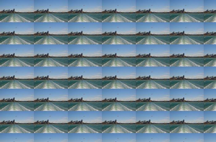 Vinylová Tapeta Pohled na Seattle centru z Puget Sound - Město