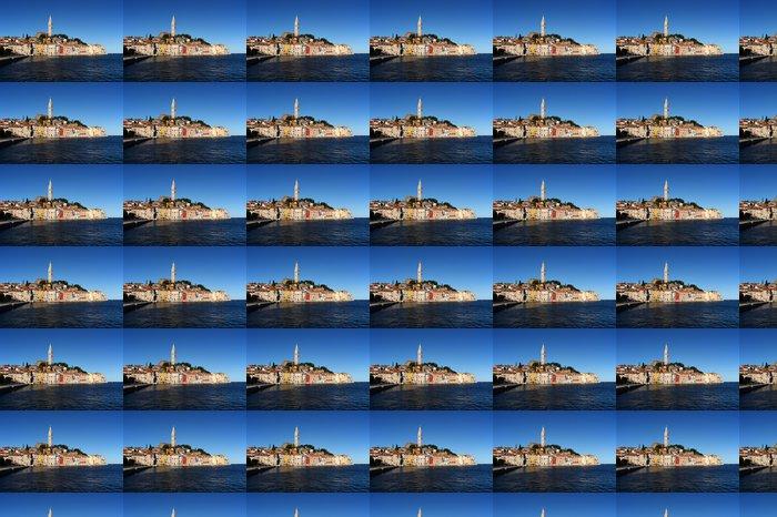 Vinylová Tapeta Pohled na město Rovinj v Chorvatsku (Europe) - Evropa