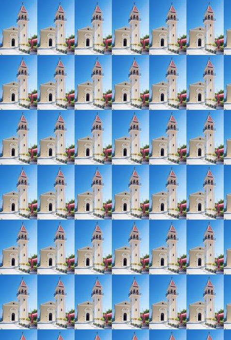 Vinylová Tapeta Tradiční církev v Bochali oblasti ostrově Zakynthos v Řecku - Evropa