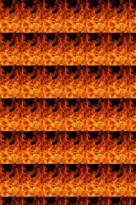 Vinylová Tapeta Oheň - Přírodní katastrofy