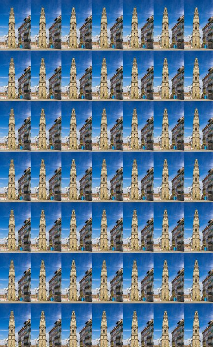 Vinylová Tapeta Clerigos věž v Porto - Portugalsko - Evropa