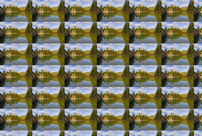Vinylová Tapeta Odraz v Emerald Lake, Alberta, Kanada. - Amerika