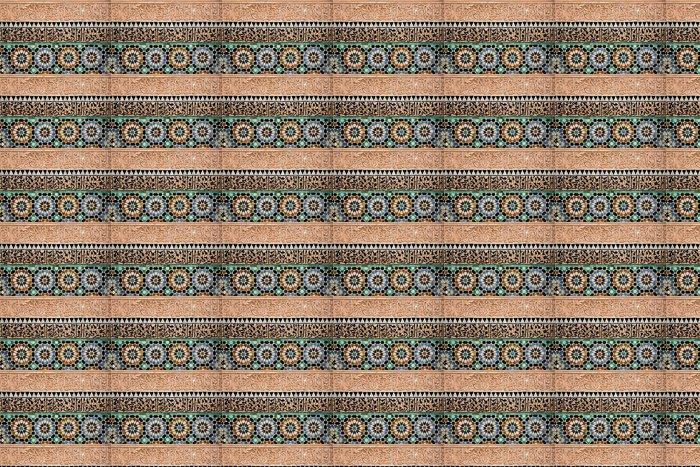 Vinylová Tapeta Marocký tilework - Témata