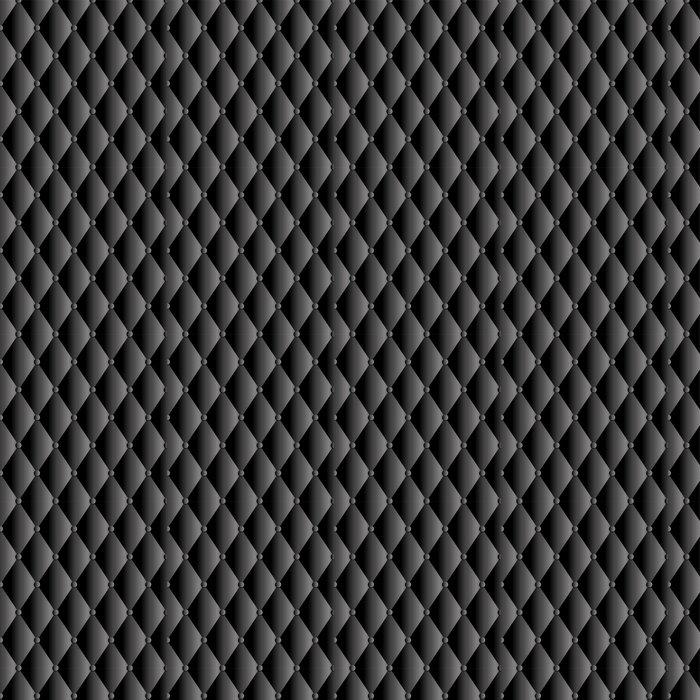 Vinylová Tapeta Vektorové černé kožené čalounění pozadí - Pozadí