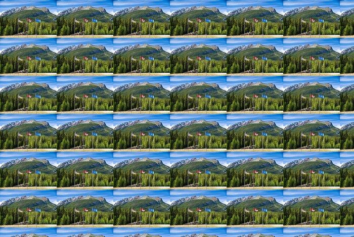 Vinylová Tapeta Kontinentální předěl v kanadských Skalistých hor - Amerika