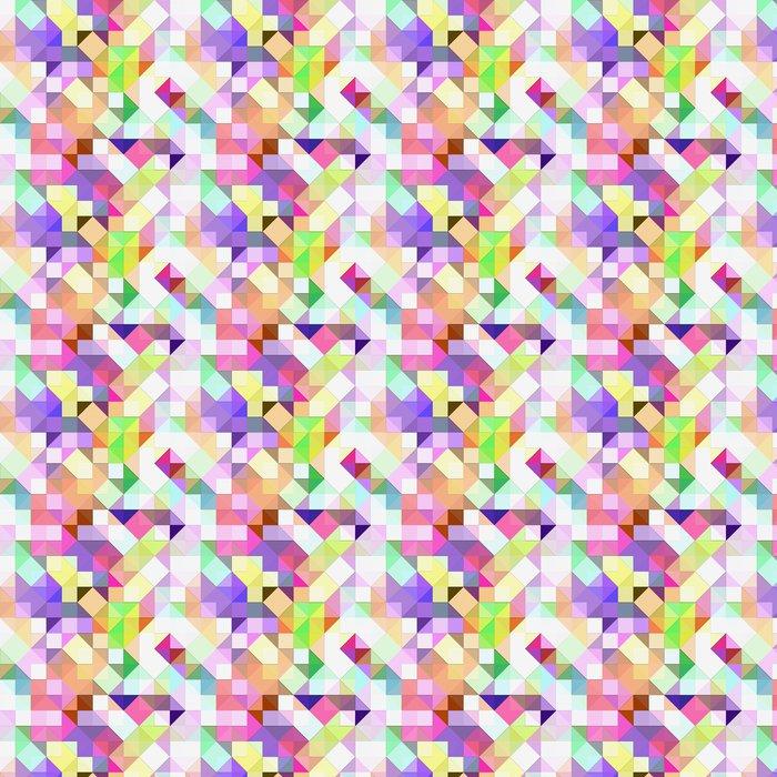 Vinylová Tapeta Jasný pastel mozaika - Styly