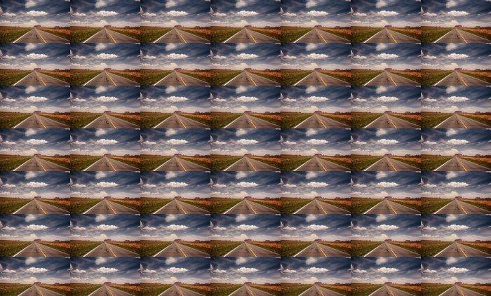 Vinylová Tapeta Dlouhá cesta k Monument Valley - Značky a symboly