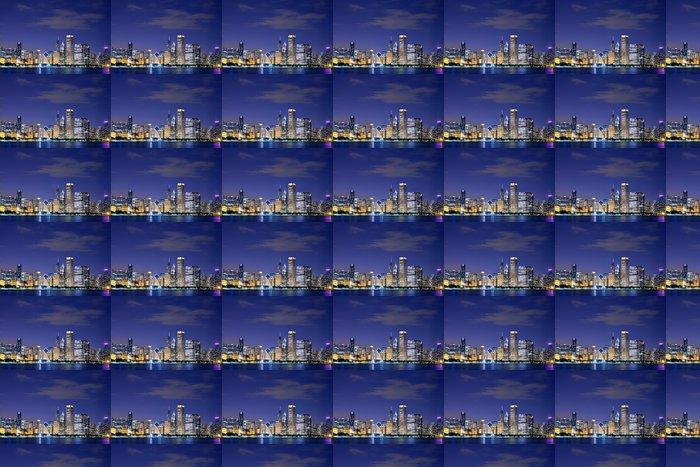 Vinylová Tapeta Downtown Chicago - Prvky podnikání