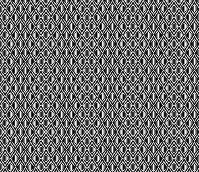 Vinylová Tapeta Bezešvé hexagonální vzor - Pozadí