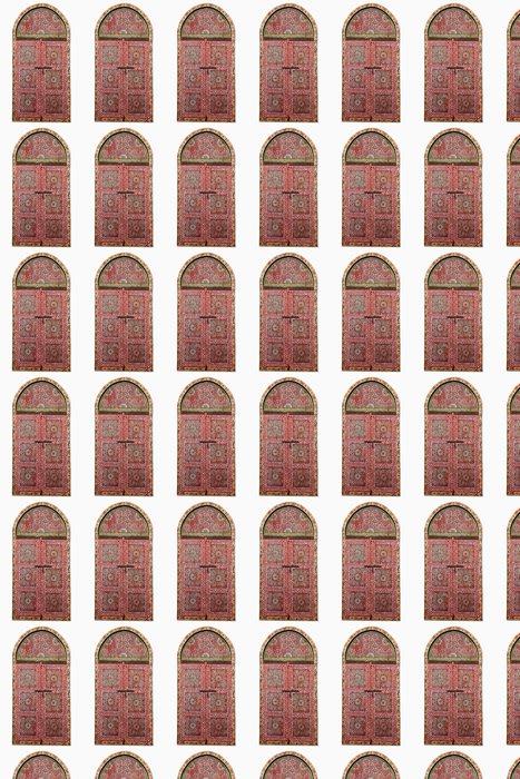 Vinylová Tapeta Výřez z arabské dřevěného okna - Domov a zahrada