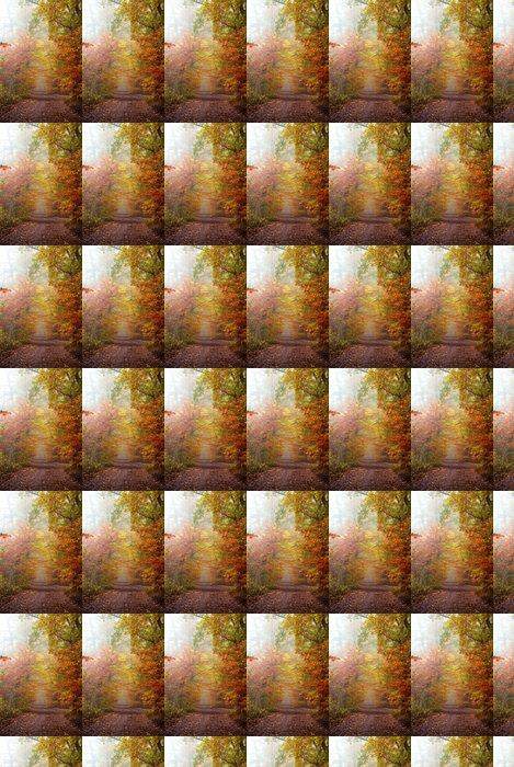 Vinylová Tapeta Podzimní barvy v lese - Témata