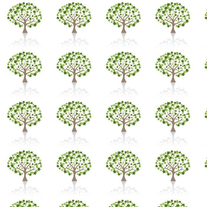 Vinylová Tapeta Maple strom vektorové ilustrace. - Umění a tvorba
