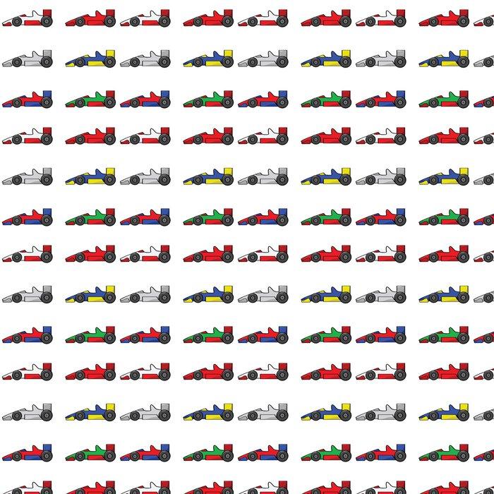 Vinylová Tapeta Závodní auta - Na cestě