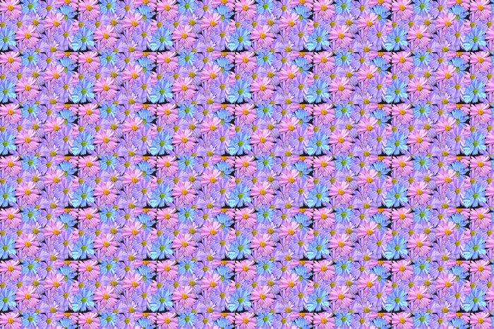 Vinylová Tapeta Manycoloured květiny - Květiny