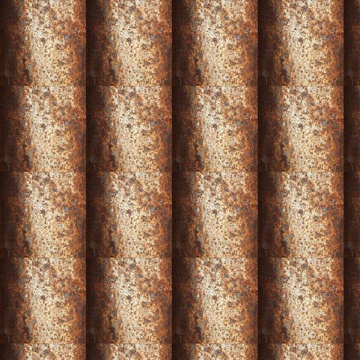 Vinylová Tapeta Rusty metal - abstraktní - Styly