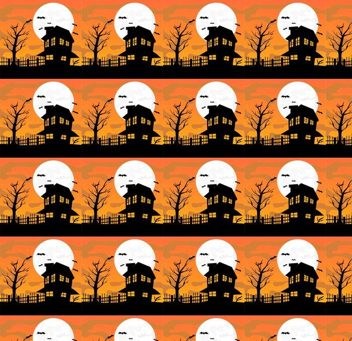 Vinylová Tapeta Halloween provedení vektorové ilustrace - Témata