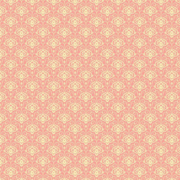 Vinylová Tapeta Květinový vzor - Pozadí