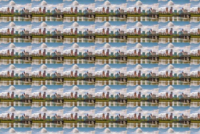 Vinylová Tapeta Downtown Portland panoráma města - Amerika
