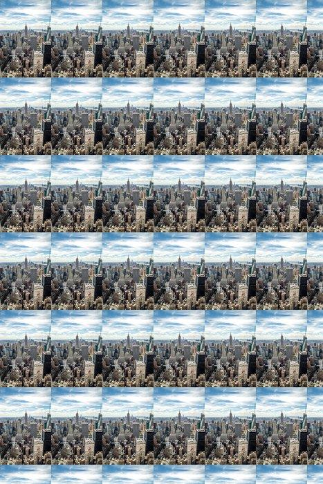 Vinylová Tapeta New York City Manhattan Midtown budovy panorama pohled - Témata