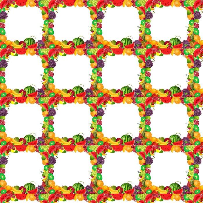 Tapete Rahmen-Vorlage von Obst für Sie entwerfen • Pixers® - Wir ...