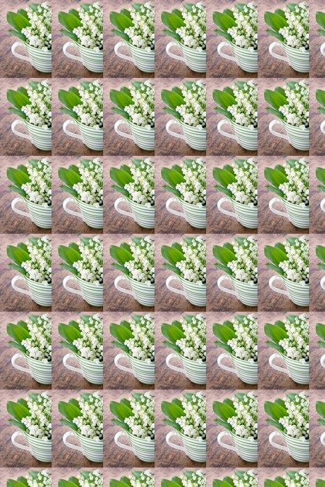 Vinylová Tapeta Konvalinka jarních květin - Květiny