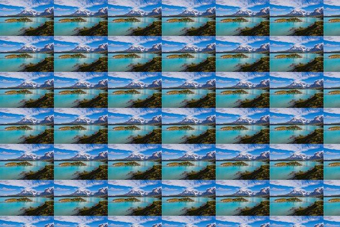 Vinylová Tapeta Dům na ostrově v národním parku Torres del Paine - Témata