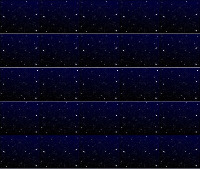 Vinylová Tapeta Hvězdné noční oblohy - Meziplanetární prostor