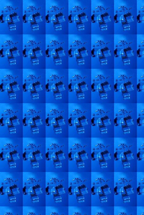 Vinylová Tapeta Ledové kostky stříkající - Pozadí