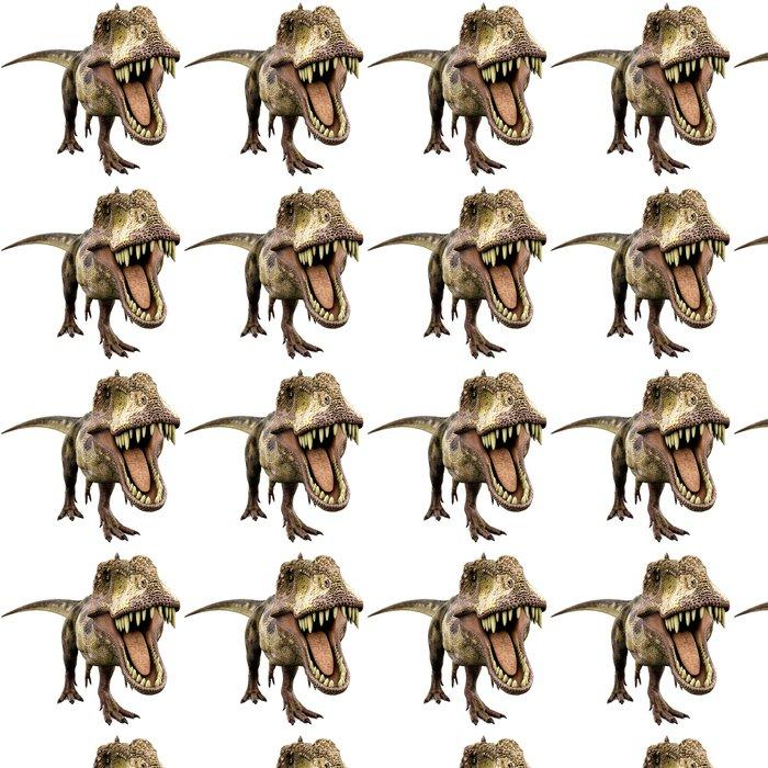 Vinylová Tapeta Tyrannosaurus hledá jídlo - Nálepka na stěny