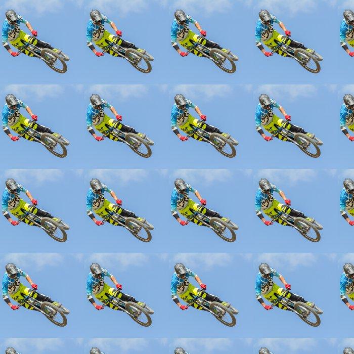 Vinylová Tapeta Vývoj motorkář - Cyklistika