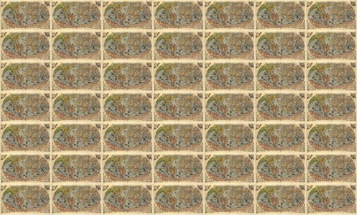 Vinylová Tapeta Mapa starého světa - Styly
