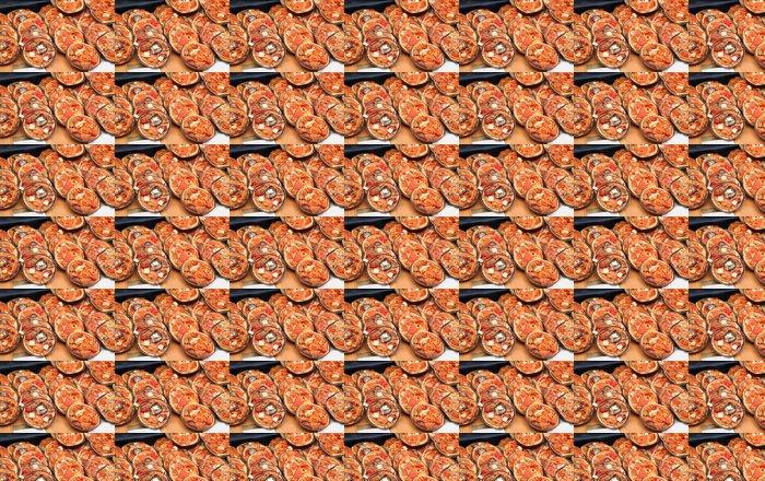 Papel Pintado Estándar Mini pizzas - Destinos