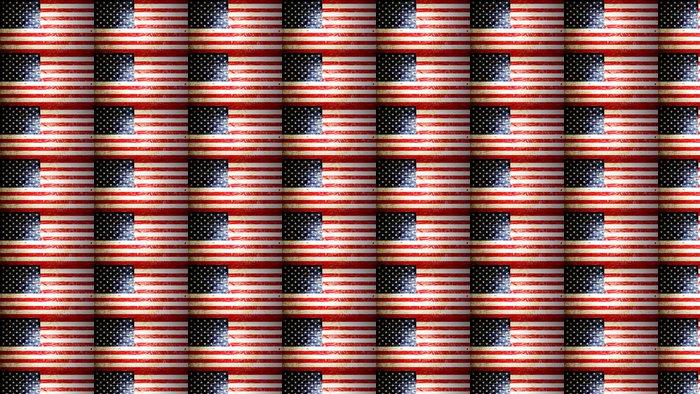 Vinylová Tapeta Americká vlajka - Témata