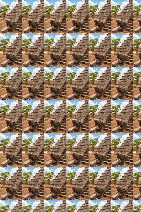 Vinylová Tapeta Opeřený had, Chichen Itza - Amerika