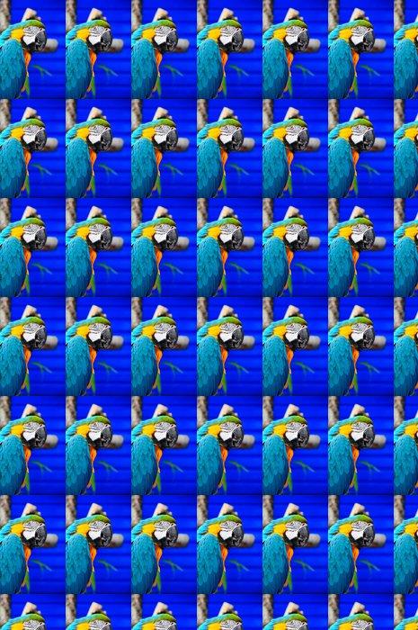 Vinylová Tapeta Modrá a žlutá papoušek - Témata