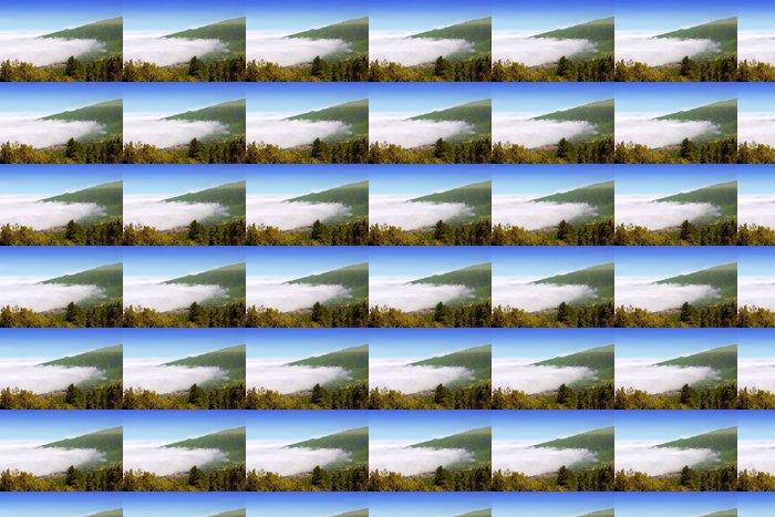 Vinylová Tapeta Údolí Orotava s výhledem na moře mraků v horských Tenerife - Prázdniny