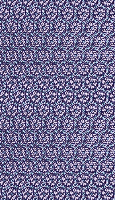 Vinylová Tapeta Mosaic Seamless Flower - Prodej
