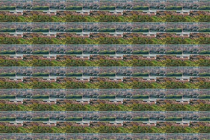 Vinylová Tapeta Lyon panorama s řekou Saone, jak je patrné z kopce Fourvière - Město
