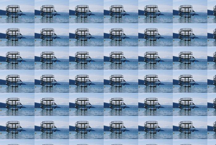 Vinylová Tapeta Plongeoir lac d'Annecy - Prázdniny