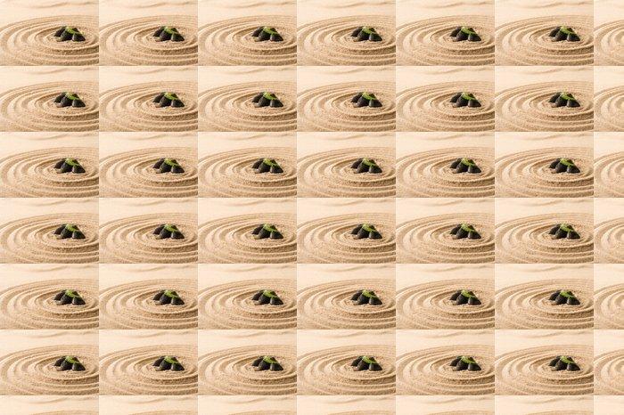 Vinylová Tapeta Lázeňské zátiší příroda zen kameny v písku - Životní styl, péče o tělo a krása