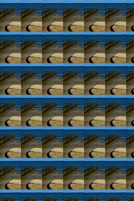 Vinylová Tapeta Mořská modř letní krajiny z Baltského moře v Polsku - Voda