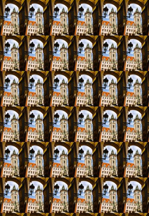 Vinylová Tapeta Staroměstská radnice, Staré Město, Praha - Město