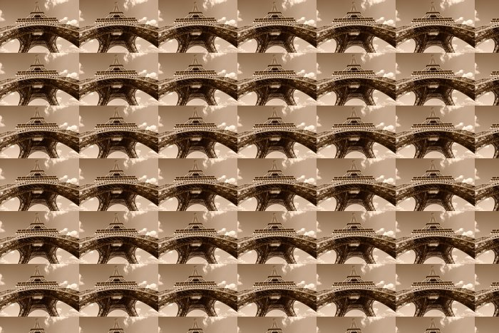 Vinylová Tapeta Eiffelova věž v Sepia - Témata