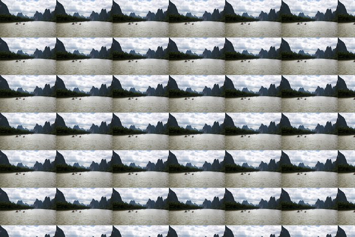 Vinylová Tapeta Guilin krasové hory krajiny - Asie